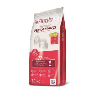 Fitmin Dog Medium Performance 15kg + Pochoutka Magnum 80g ZDARMA