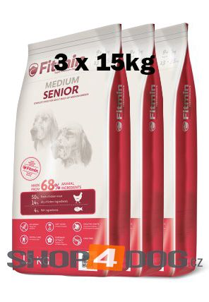 Fitmin Dog Medium Senior 3x15kg