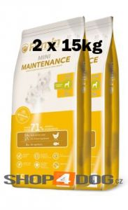 Fitmin Dog Mini Maintenance 2 x 15kg + Pochoutka Denta Stix