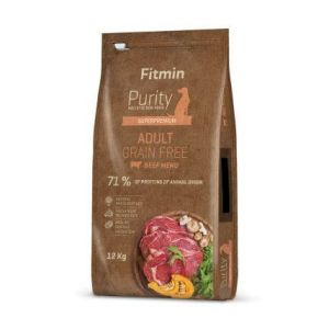 Fitmin Purity Grain Free Adult Beef 12kg