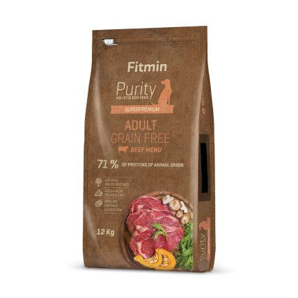 Fitmin Purity Grain Free Adult Beef 12kg