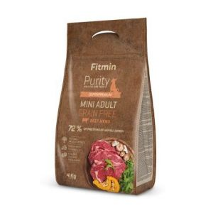 Fitmin Purity Grain Free Adult Mini Beef 4kg