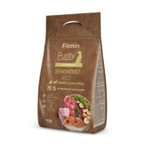 Fitmin Purity Rice Semimoist Rabbit&Lamb 4kg