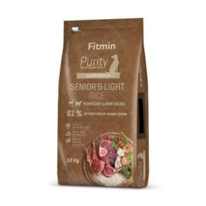 Fitmin Purity Rice Senior&Light Venison&Lamb 12kg