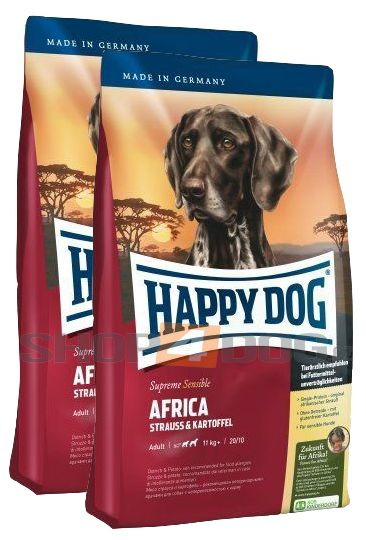Happy Dog Supreme Nutrition Africa 2 x 12,5kg
