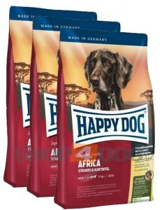 Happy Dog Africa 3 x 12,5kg