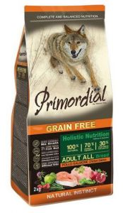 Primordial Pet Food PGF Adult Chicken & Salmon 2kg
