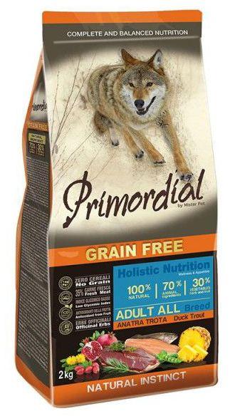 Primordial Pet Food PGF Adult Trout & Duck 2kg