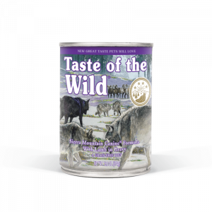 TASTE OF THE WILD Sierra Mountain konzerva 390g
