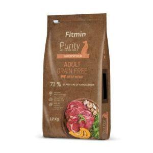 Fitmin Purity Grain Free Adult Beef 3x12kg + Pochoutka 250g ZDARMA