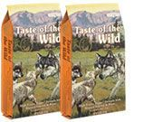 Taste of the Wild High Prairie Puppy 2x13kg + PAMLSEK ZDARMA