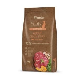 Fitmin Purity Grain Free Adult Beef 2kg
