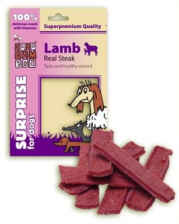 Huhu Bamboo Lamb real steak 75g HUHUBAMBOO