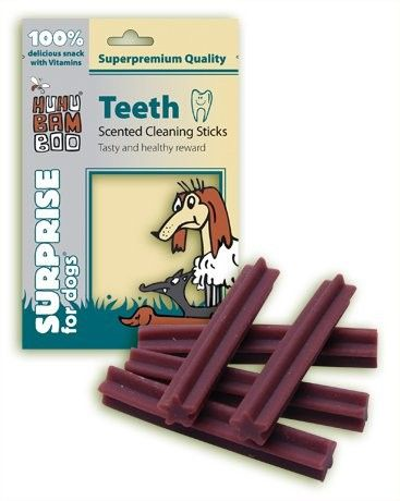 Huhu Teeth Scented Cleaning Sticks 75g HUHUBAMBOO