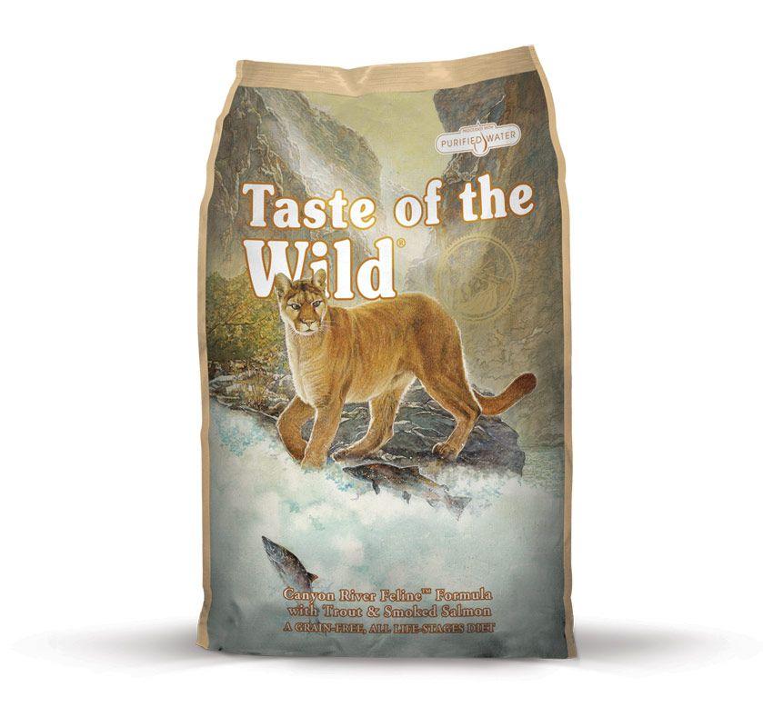 TASTE OF THE WILD Canyon River Feline 6,6kg Diamond Pet Foods