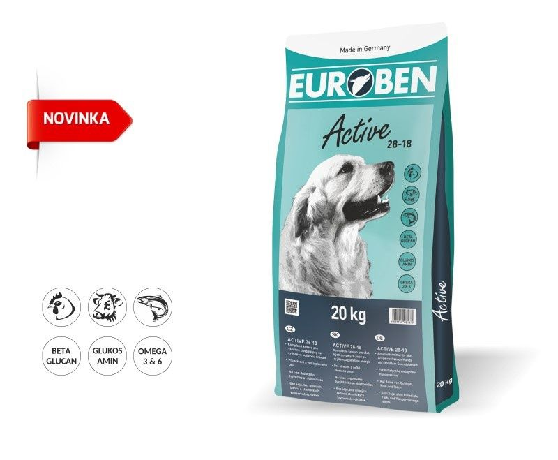 EUROBEN 28-18 Active 2x20kg Happy Dog