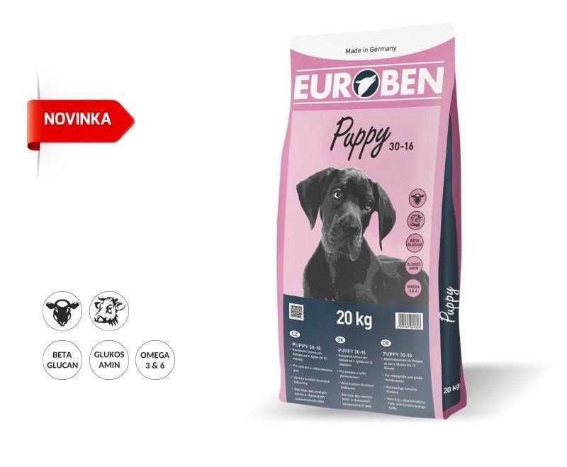 EUROBEN 30-16 Puppy 2x20kg Happy Dog