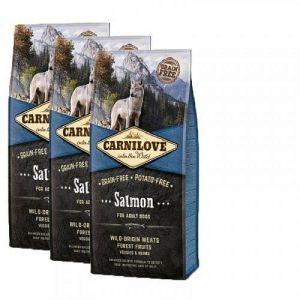 Carnilove Dog Salmon for Adult  NEW 3x12kg