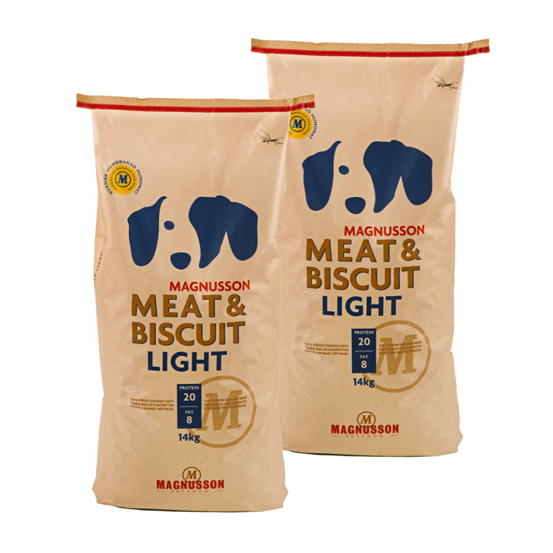 Magnuson Meat & Biscuit Light 2 x 14 kg Magnusson