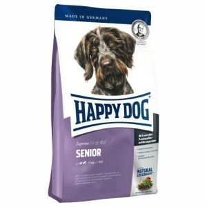 Happy Dog Senior 2 x 12,5kg + 6 x konzerva 400g