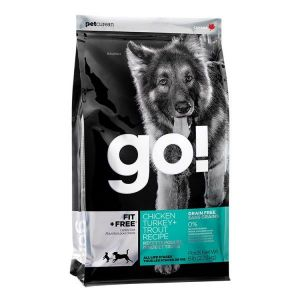 PetCurean GO Fit + Free Grain Free 2 x 11,33kg