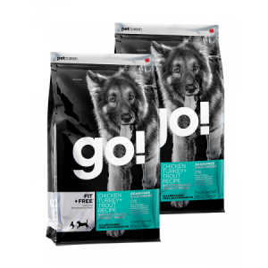 PetCurean GO Fit + Free Grain Free 2 x 11,33kg