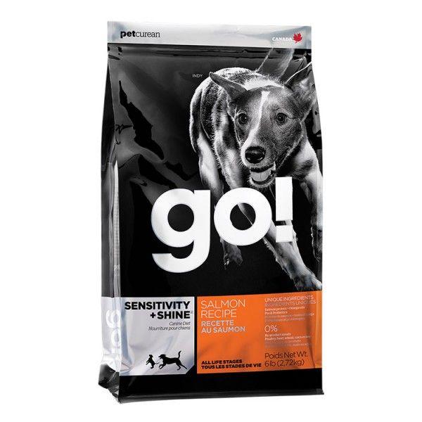 PetCurean GO Sensitive + Shine Salmon 11,33kg