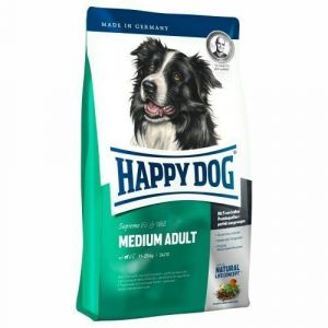 Happy Dog Adult Medium 12,5kg + 2kg ZDARMA