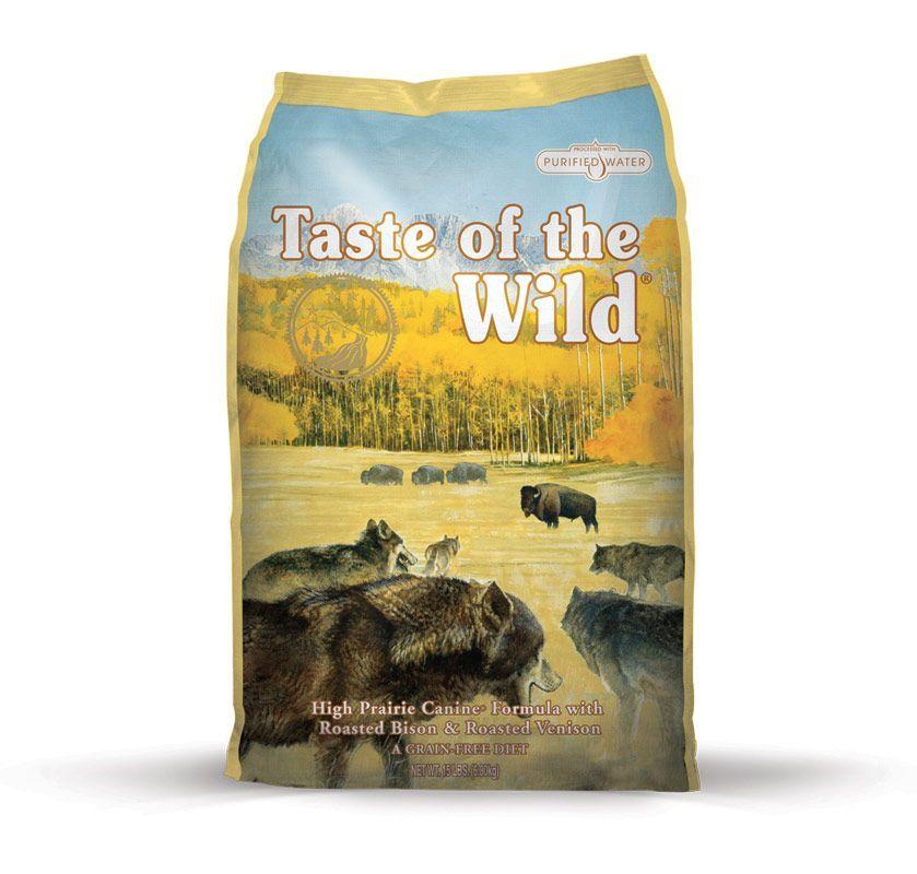 Taste of the Wild High Prairie 3x13kg Diamond Pet Foods