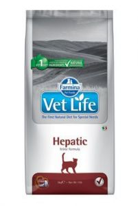 Vet Life Natural CAT Hepatic 2kg Exprirace: 10/20