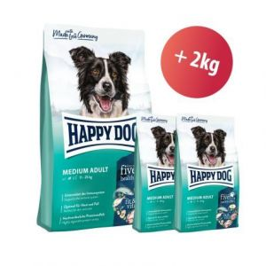 Happy Dog Supreme Fit & Vital Medium Adult 12 kg + 2kg ZDARMA