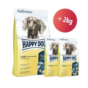 Happy Dog Supreme Fit & Vital Light Calorie Control 12 kg + 2kg ZDARMA