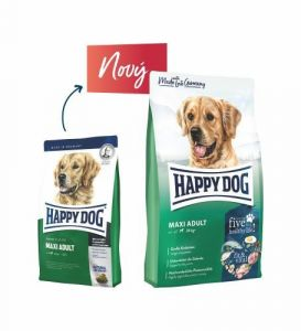 Happy Dog Supreme Fit & Vital Maxi Adult 2 x 14kg Perfecto Dog Masové plátky (20ks/200g) ZDARMA