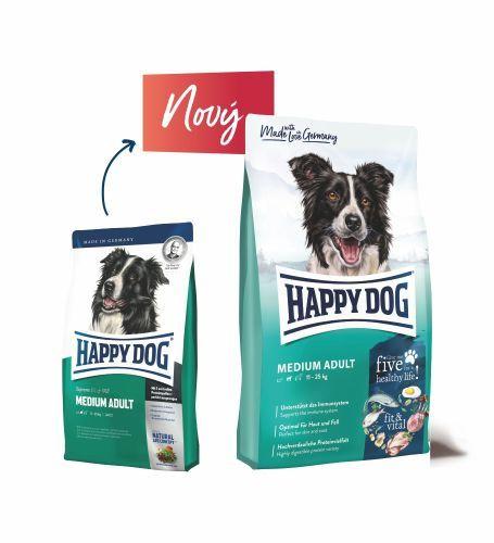 Happy Supreme Fit & Vital Medium Adult 2 x 12kg Happy Dog