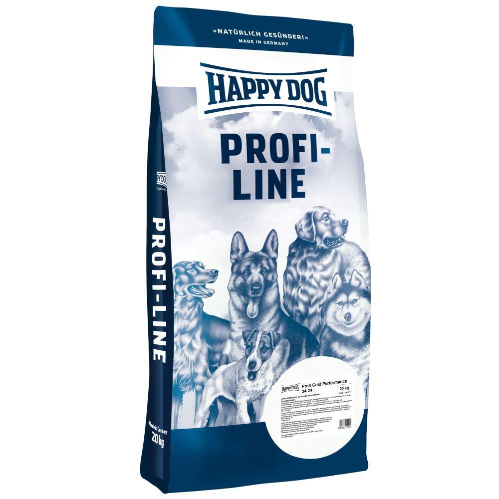 Happy dog Profi Gold 34/24 Performance 2x20 kg