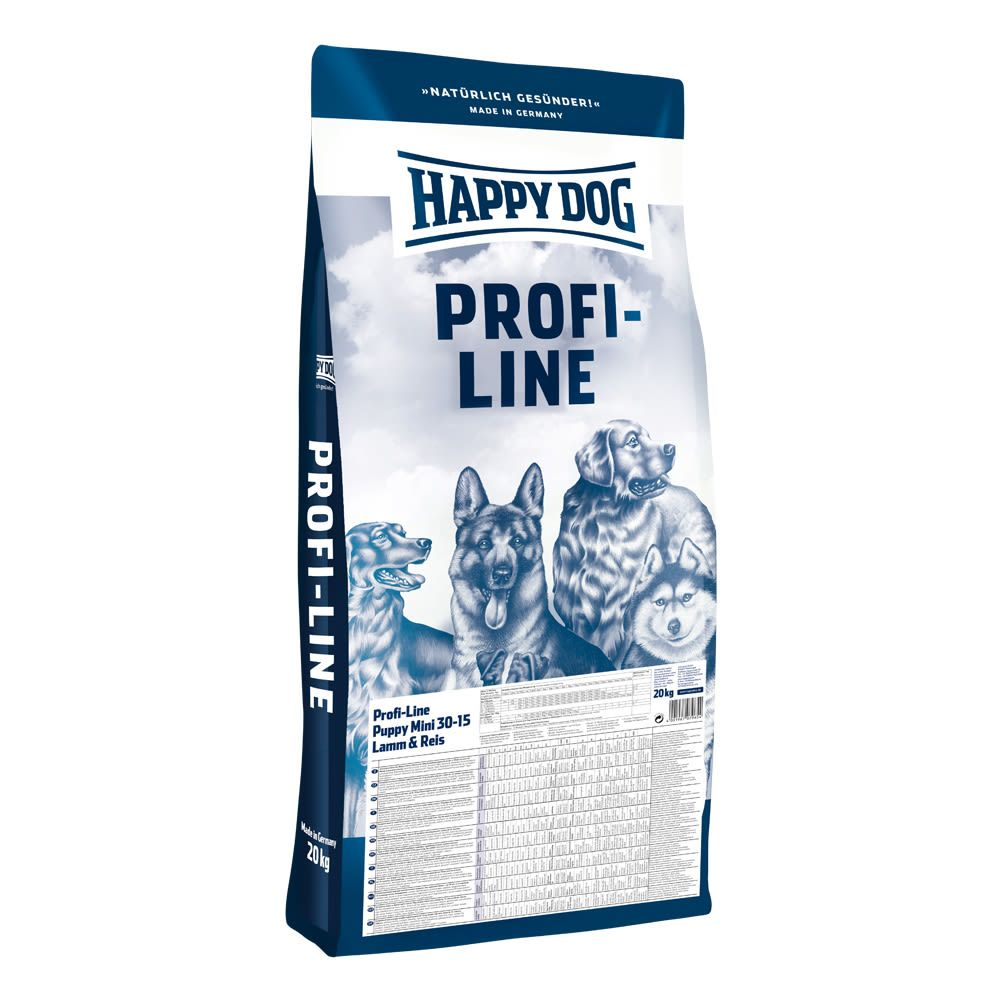 Happy dog Profi Puppy Mini Lamm & Reis 20 kg