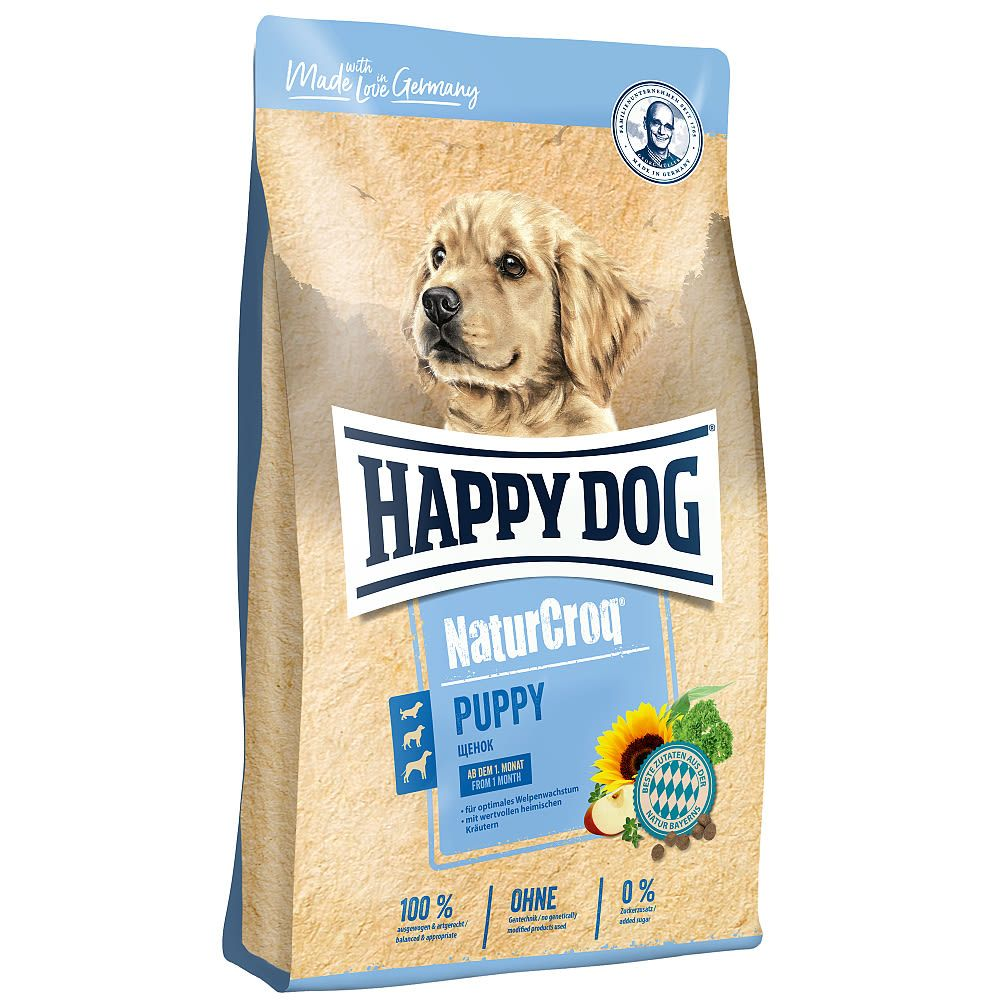 HAPPY Dog NaturCroq Puppy 3x15 kg