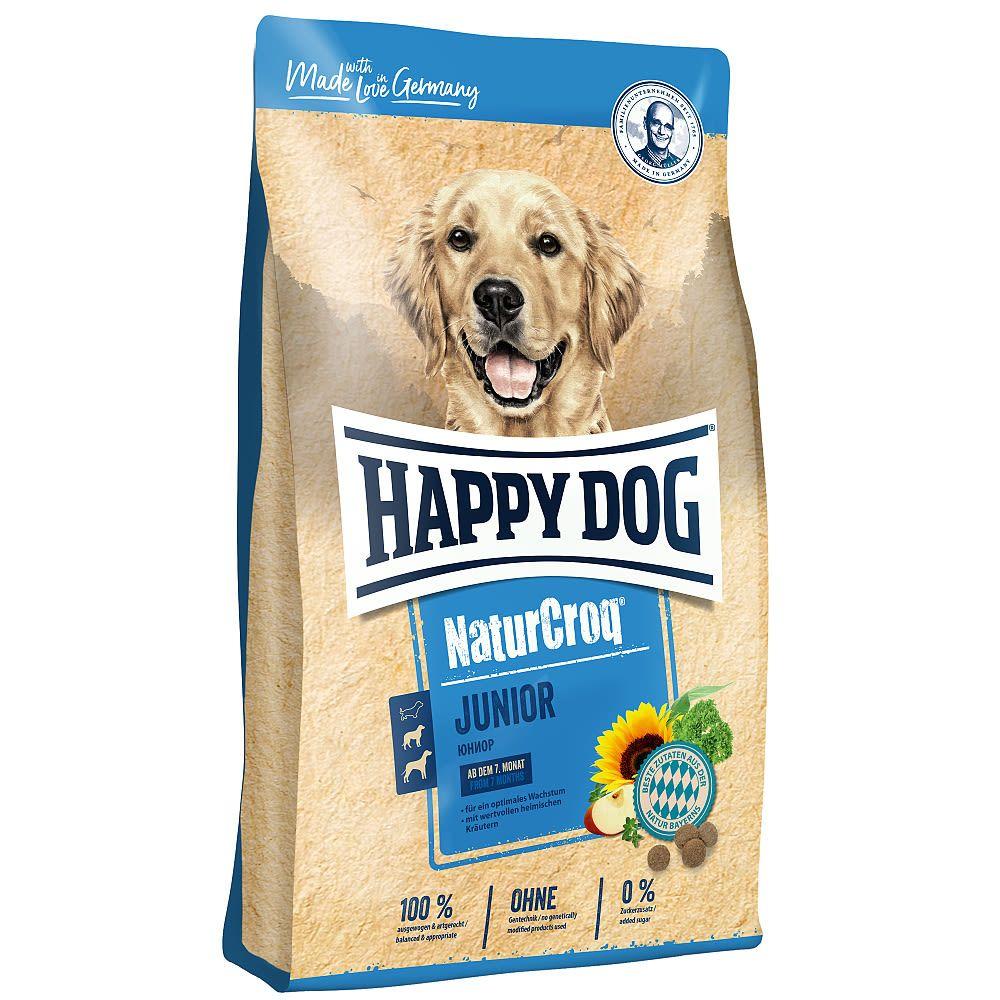 HAPPY Dog NaturCroq Junior 3x15 kg