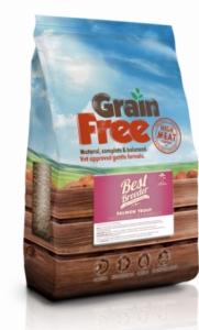 Best Breeder Grain Free Salmon, Trout, Sweet Potato & Asparagus 2x12kg