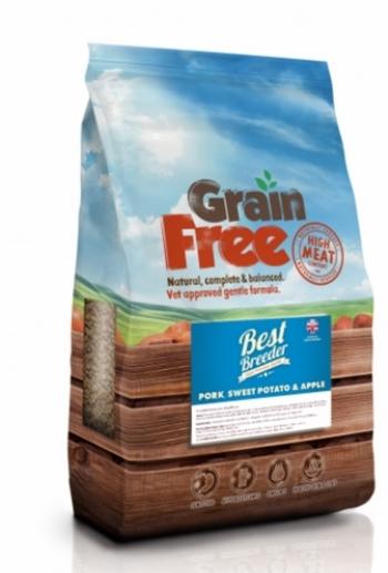 Best Breeder Grain Free Pork, Sweet Potato & Apple 2x12kg