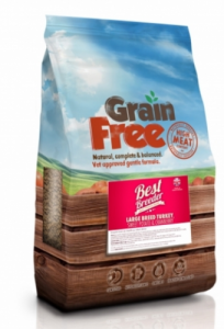 Best Breeder Grain Free Large Breed Turkey, Sweet Potato & Cranberry 2x12kg