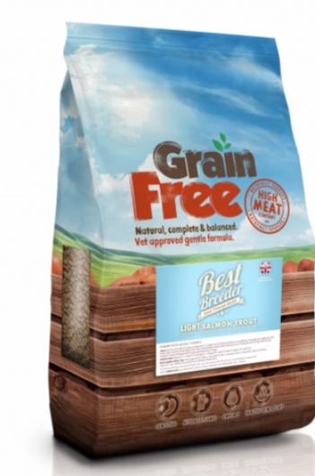 Best Breeder Grain Free Light Trout with Salmon, Sweet Potato & Asparagus 2x12kg