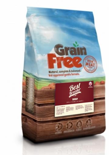 Best Breeder Grain Free Beef, Sweet Potato & Carrot 2x12kg