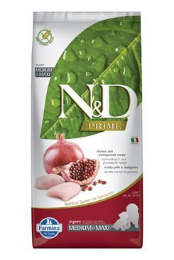 N&D PRIME DOG Puppy M/L Chicken & Pomegranate 2x12kg Farmina Pet Foods - N&D