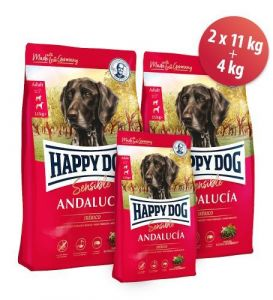 Happy dog Andalucia 2x11kg + 4kg ZDARMA