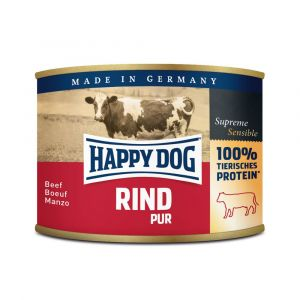 Happy dog Rind Pur - hovězí 200 g