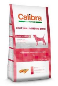 Calibra Dog GF Adult Medium & Small Salmon  2x12kg