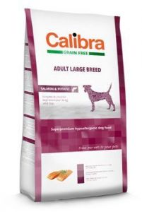 Calibra Dog GF Adult Large Breed Salmon  2x12kg
