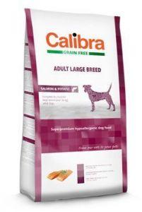 Calibra Dog GF Adult Large Breed Salmon 2x12kg