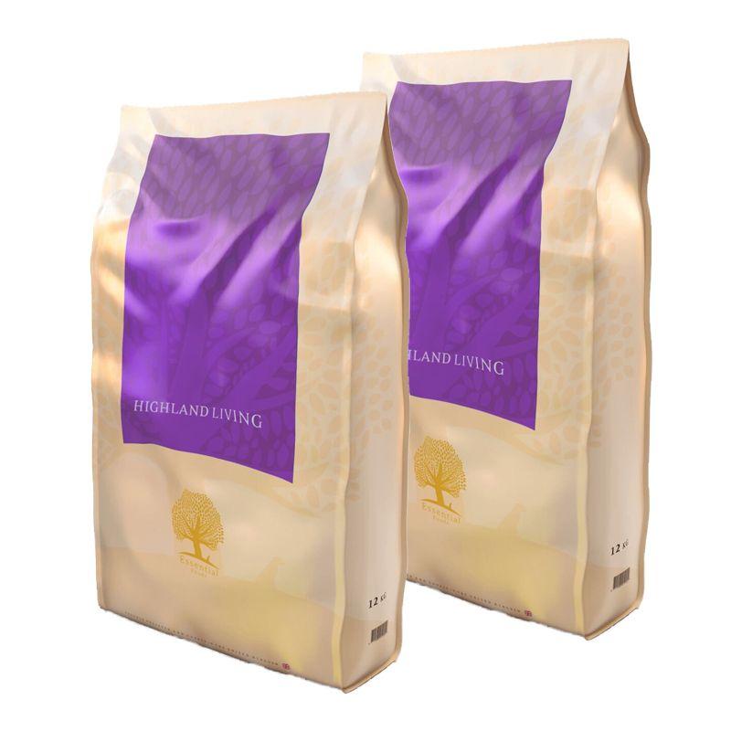 ESSENTIAL Highland Living 2x12 kg Essential Foods